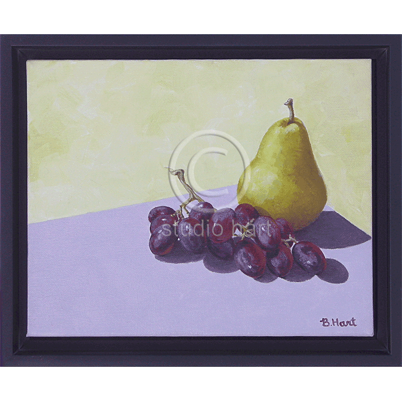 Grapes Meet Pear