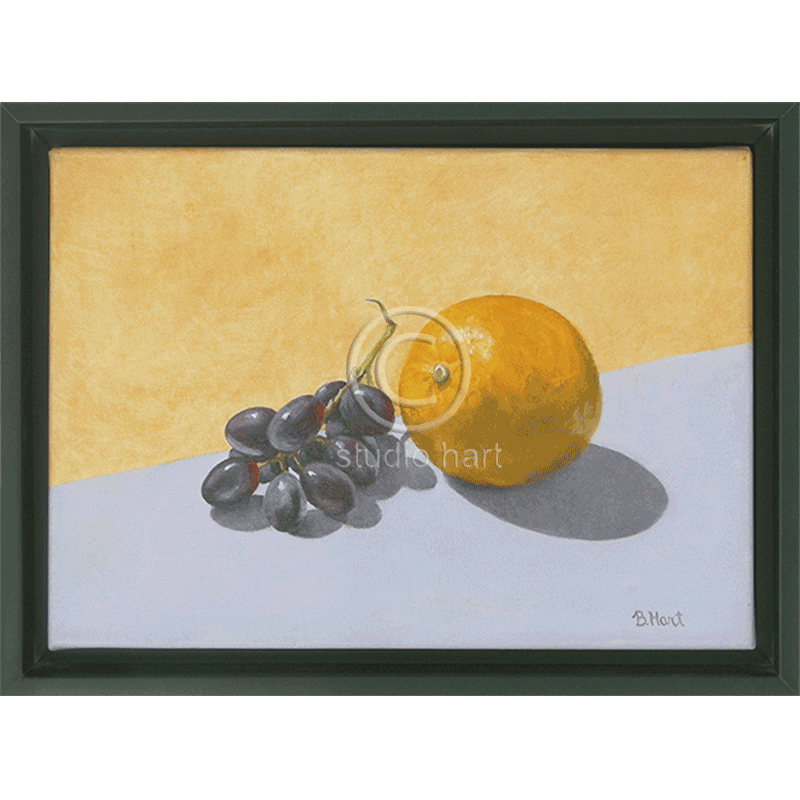 Grapes Meet Orange